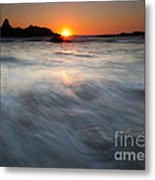 Concealed By The Tides Metal Print