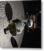 Concept Of The Orion Crew Exploration Metal Print