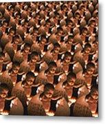 Conceptual Computer Artwork Of Human Cloning Metal Print