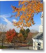 Concord Massachusetts In Autumn Metal Print