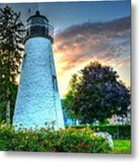 Concord Point Lighthouse 2 Metal Print