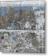 Concrete Blue 1 Metal Print