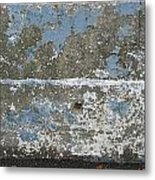 Concrete Blue 2 Metal Print