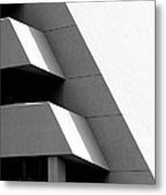 Concretely Abstract View Metal Print