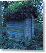 Condo In The Woods Metal Print