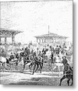 Coney Island, 1877 Metal Print