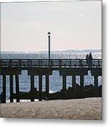 Coney Island Coast Metal Print