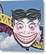 Coney Joker Metal Print