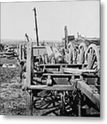 Confederate Cannon Metal Print