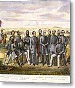 Confederate Generals Metal Print by Granger