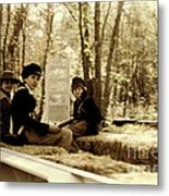 Confederate Kids Metal Print