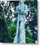Confederate Soldier Memorial Metal Print
