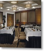 Conference Room Metal Print by Robert Pisano