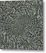 Confetti Twister Metal Print