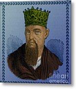 Confucius, Chinese Philosopher Metal Print
