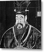 Confucius Metal Print