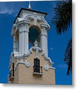 Congregational Church Tower Metal Print