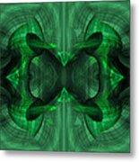 Conjoint - Emerald Metal Print