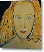 Connie Crothers Metal Print by Jay Manne-Crusoe
