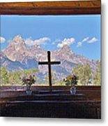 Connie's View Metal Print