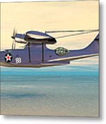 Consolidated Pby Catalina Metal Print