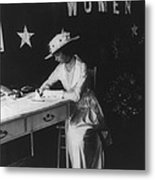 Consuelo Vanderbilt 1877-1964, Still Metal Print by Everett