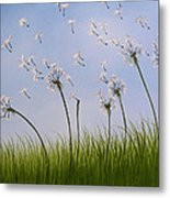 Contemporary Landscape Art Make A Wish By Amy Giacomelli Metal Print