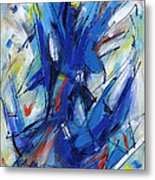 Contemporary Painting Six Metal Print
