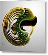 Continuous Agitation Metal Print