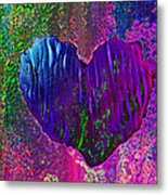 Contours Of The Heart Metal Print