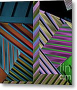 Conundrum Of Color Metal Print by Robert Meanor