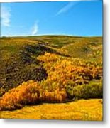 Conway Summit Fall Color Metal Print