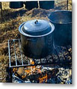 Cook Fire Metal Print