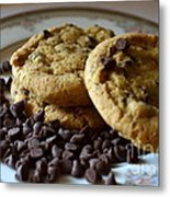 Cookie Time Metal Print