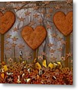 Cookie Trees Metal Print