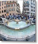 Cool Attraction Metal Print