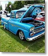 Cool Blues Classic Truck Metal Print