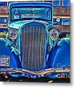 Cool Front End Hdr Metal Print