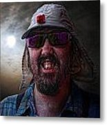 Cool Hat Colour Metal Print