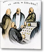Coolidge: Cash Register Metal Print