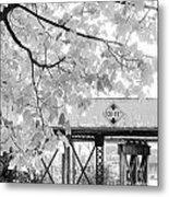 Cooper Street Railroad Trestle Metal Print