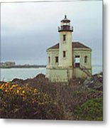 Coquile Lighthouse Metal Print