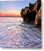 Coquillage Metal Print