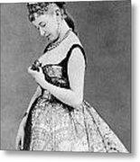 Cora Pearl (c1835-1886) Metal Print