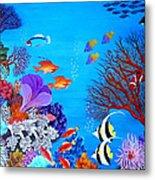 Coral Garden Metal Print