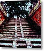 Coral Stairway Metal Print