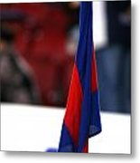 Corner Flag Of Camp Nou Metal Print