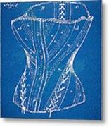 Corset Patent Series 1884 Metal Print