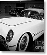 Corvette 55 Convertible Metal Print