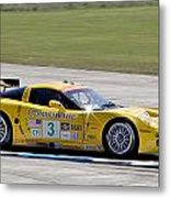 Corvette Racing C6r 3 Metal Print